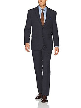 U.S.Polo Association Mens Nested Suit, Grey Check, 42 Long