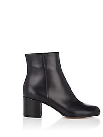 a49c80acbc1e Gianvito Rossi Womens Margaux Leather Ankle Boots - Black Size 7