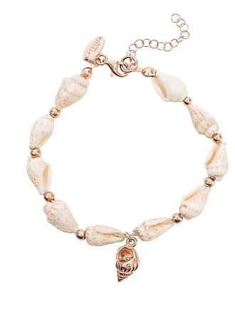 Latelita London Rose Gold Plated Spiral Shell Bracelet
