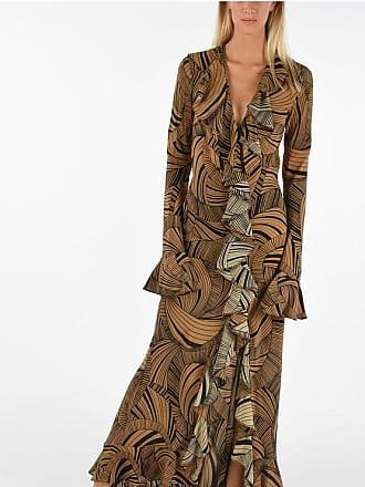 De La Vali silk Printed Dress Größe 10