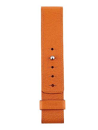 Hermès Barenia Leather Watch Strap, Orange