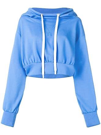 No Ka'Oi cropped sport hoodie - Blue