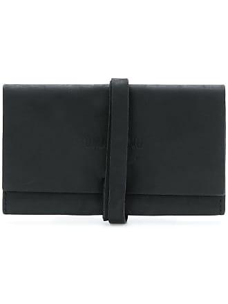 Uma Wang wrap around strap wallet - Black