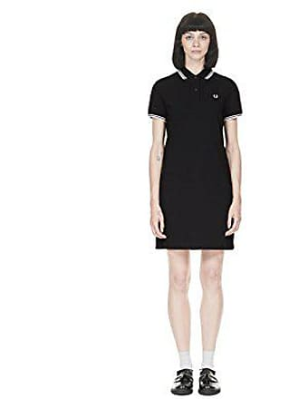 Fred Perry Womens Twin Tipped Dress, Black 14