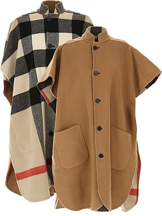 4c7142c11eb0 Burberry Jacket for Women, Camel, Wool, 2017, 10 6 8
