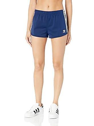 10564e179f52 Delivery: free. adidas Originals Womens 3-Stripes Shorts, Dark Blue, X-Small