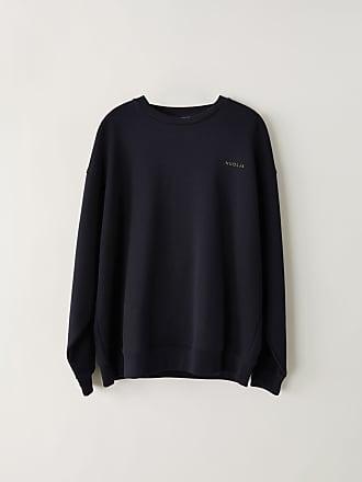 Acne Studios FN-MN-SWEA000038 Navy blue Printed sweatshirt