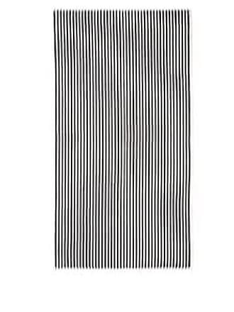 Barneys New York Fume Striped Cotton Bath Sheet - Ivorybone