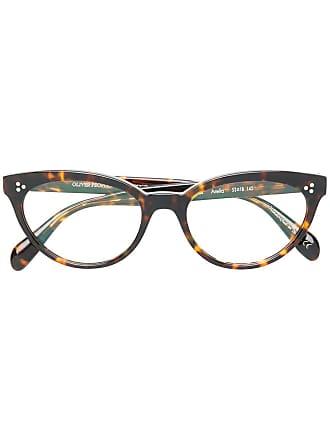 Oliver Peoples Armação de óculos Arella - Marrom