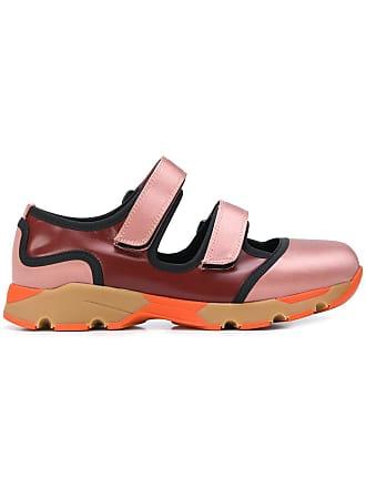 Marni double touch-strap sneakers - Di Colore Rosa 9450950d52