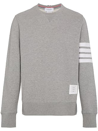 Thom Browne Engineered 4-Bar Jersey Sweatshirt - Grey