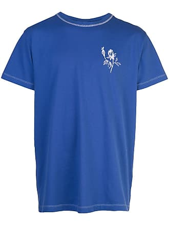 Off-white printed T-shirt - Azul