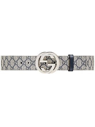 da59edff9be Gucci GG Supreme belt with G buckle - Blue