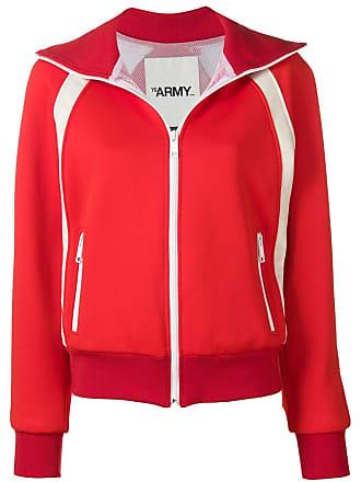 Yves Salomon - Army Zip sports jacket - Red