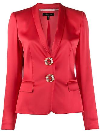 Escada tailored blazer - Vermelho