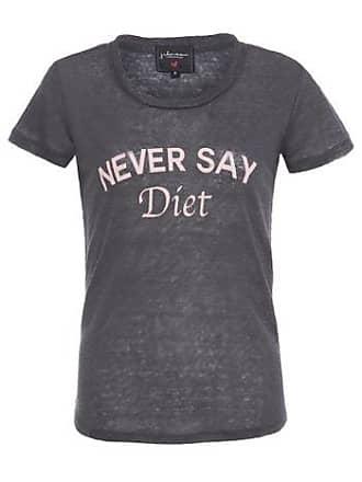 J. Chermann T-shirt Never Say Diet J. Chermann - Cinza