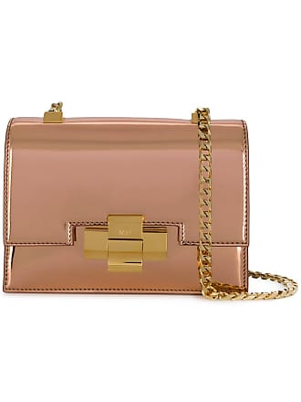 N°21 metallic leather mini alice bag - Pink 38d144116b18b