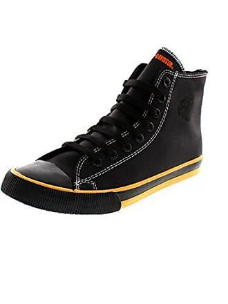 uk availability 3a956 ffbac Harley-Davidson Herren High Top Sneaker Schwarz, Schuhgröße EUR 40