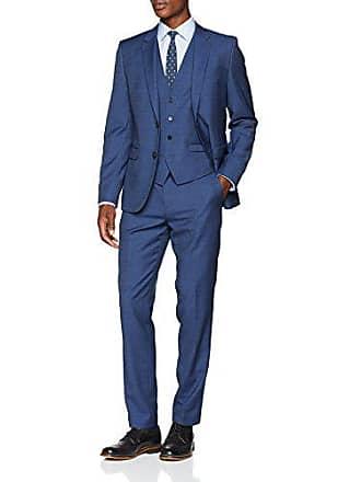 c9e4843c5d0 HUGO BOSS Astian Hets182v1 Veste de Costume 3 pièces. par paquet Homme Bleu  (Navy