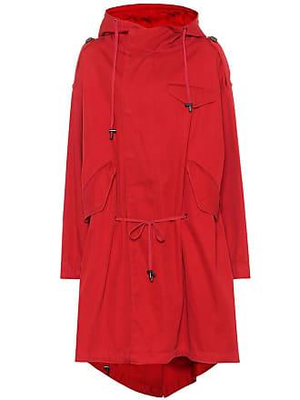 Isabel Marant Duffy cotton twill coat