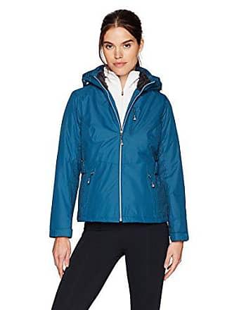 ZeroXposur Womens Aliyah Insulated Jacket, Teal, Petite Large
