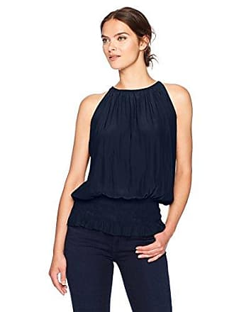 Ramy Brook Womens Sleeveless Lauren, Navy S