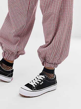Vans Style 29 - Schwarze Sneaker mit Profilsohle