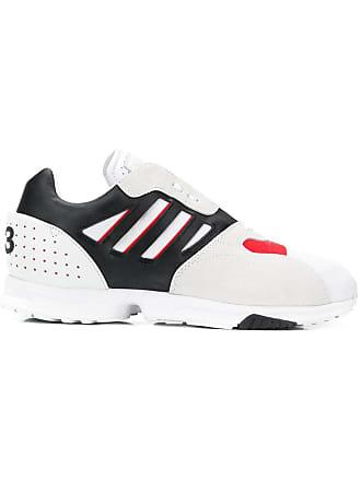 Yohji Yamamoto panelled runner sneakers - Black