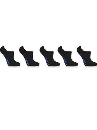 Falke Cool Kick Set Of Five Stretch-knit Socks - Black