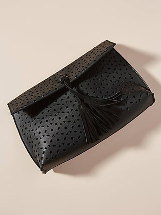 Anthropologie Jayne Perforated Clutch