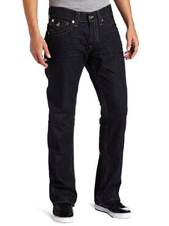 21dcc20d True Religion Mens Ricky Straight Leg Jean in BZ Inglorious, Bz Inglorious,  40