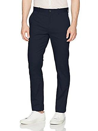 Perry Ellis Mens Stretch 5 Pocket Bedford Chino Pant, Dark Sapphire, 36W X 30L