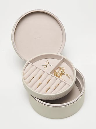 P D PAOLA Taupe Supreme Treasure Jewellery Box - ONESIZE | vegan leather | taupe - Taupe