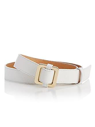 Simons Square buckle faux-leather belt