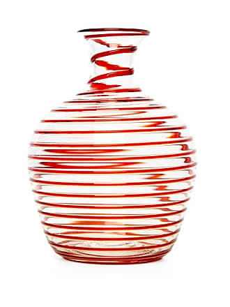 Yali Glass A Filo Large Glass Carafe - Red