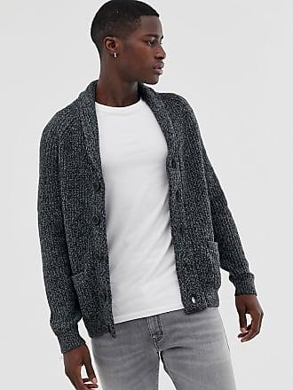 0dc2dd9b9a19 Pier One Cardigan en laine mélangée avec col épais - Gris - Gris