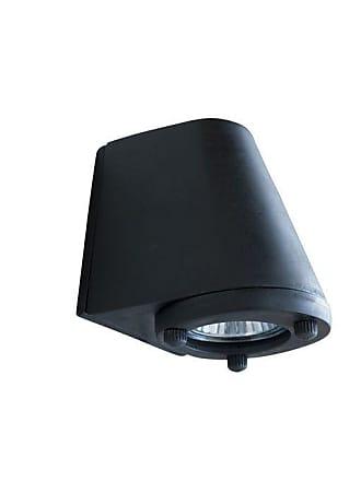 PIB Black exterior wall lamp Aix