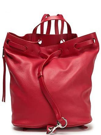 Rebecca Minkoff Rebecca Minkoff Woman Smooth And Textured-leather Backpack Claret Size