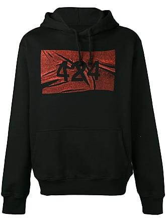 424 logo hoodie - Preto
