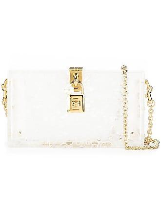 Dolce & Gabbana Bolsa tiracolo estruturada - Branco