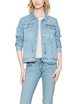 Tommy Jeans Damen REGULAR TRACKER JACKET Langarm Jeansjacke Denim Jacke cb1ffd135f