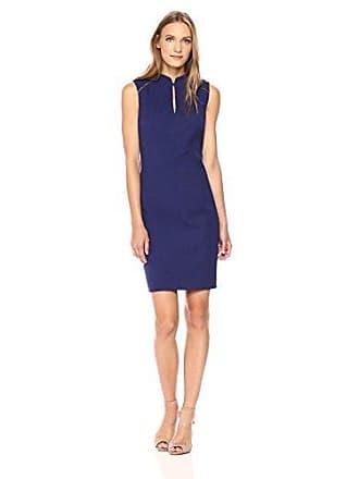 Elie Tahari Womens Michelle Dress, Regal, 8