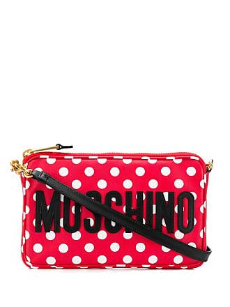 Moschino polka dot crossbody bag - Red