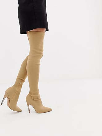 Devious High Heel Overknee Boots Lackstiefel Dagge | Higher