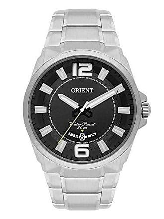 Orient Relógio Masculino Orient Casual MBSS1334/P2SX - Prata