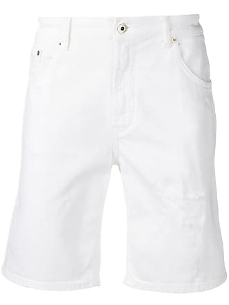 Dondup low-waist denim shorts - White