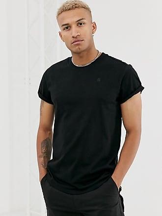G-Star Shelo - Lässig geschnittenes T-Shirt in Schwarz