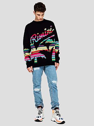 Msgm crew neck sweater rimini print
