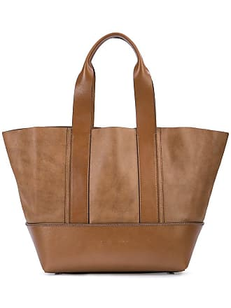 Brunello Cucinelli trapeze shaped tote - Brown