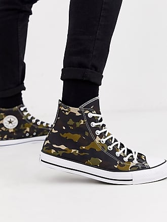 Converse Chuck Taylor All Star - Sneaker mit Military-Muster-Grün